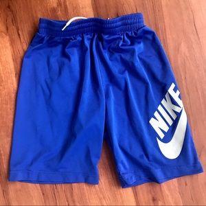 Nike SB Blue and Gray Athletic Drawstring Shorts